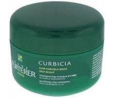 René Furterer shampoo Curbicia-absorbent clay mask 200ml purity