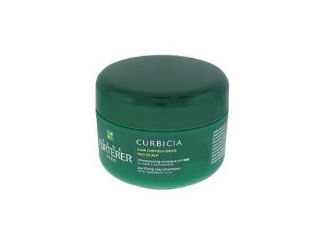 René Furterer shampoo Curbicia-absorbent clay mask 200ml purity