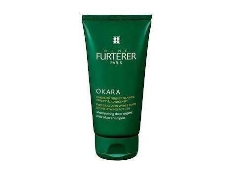 Rene Furterer Okara Mild shampoo silver. Gray and white hair 200