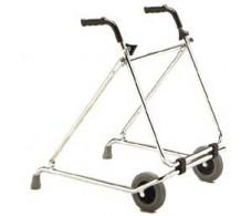 Andador con ruedas plegable