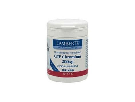Lamberts GTF Chromium Picolinate 100 tabetas