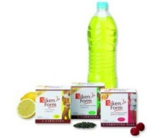 Siken Form L-Carnitina + vitamina B2. Sabor limón. 12 sobres