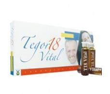 Tegor 18 Vital 10 viales