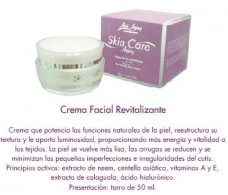 Anti Aging Crema facial revitalizante 50ml.