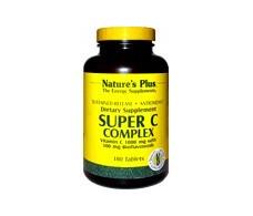 Nature's Plus Super C Complex 60 comp. Sustained release N