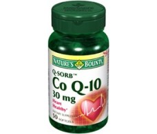 Nature´s Bounty Coenzima Q10 30mg. 50 perlas