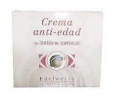 Edelweiss crema anti-edad de baba de caracol 50ml.