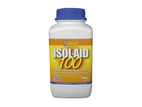 JustAid Isol-Aid 100 chocolate 900gr. Protein isolated