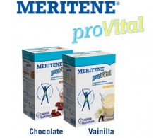 MERITENE Provital chocolate. 7 envelopes