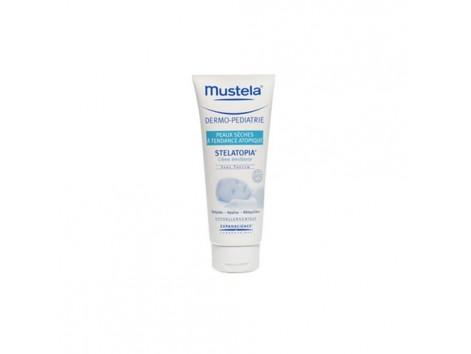 Mustela Stelatopia atopic skin emollient cream 200ml.