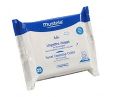 Mustela toallitas para la cara 25 unidades