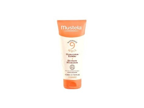 Mustela 9 months. 200ml milk extreme hydration.