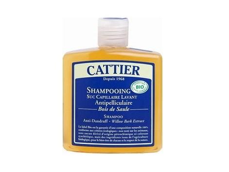 Cattier Shampoo Antidandruff-Willow Wood and Lavender 250 ml.