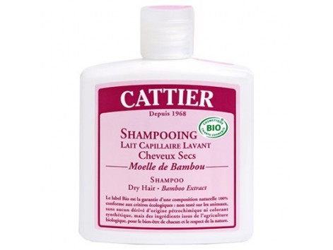 Cattier Dry Hair Shampoo Bamboo 250ml.