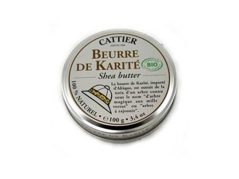 Cattier shea butter 100g.