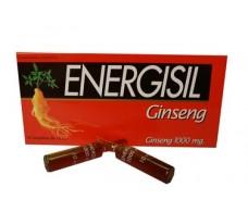 Energisil Ginseng 1000mg. 10 ampollas
