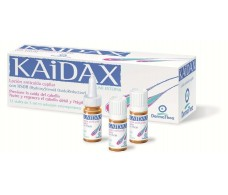 Anti-fall Kaidax Lotion 12 ampoules. Dermathea