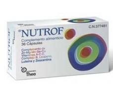 Nutrof 36 capsules. Thea