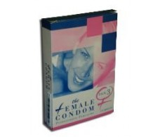Preservativo femenino Female Condom 3 unidades