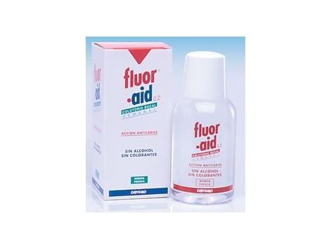 Fluor-Aid 0.2 weekly oral mouthwash 150ml.