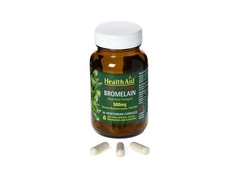 Health Aid Bromelain 500mg. 30 capsules