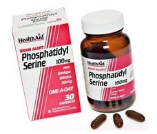 Health Aid Brain Alert Phosphatidylserine 30 capsules