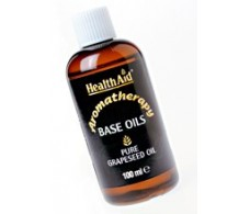 Health Aid aceite base de semillas de uva 100ml.