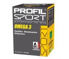 Profil Sport Omega 3.  40 capsulas