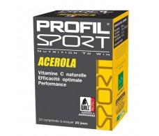 Profil Sport Acerola 20 comprimidos