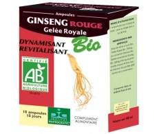Phytoceutic RED GINSENG ROYAL JELLY organic 10 phial