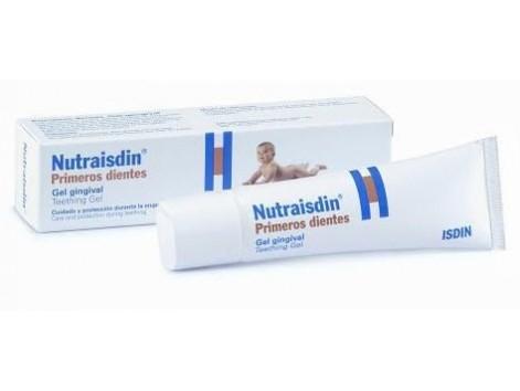 Nutraisdin first teeth. Gingival Gel 30ml.