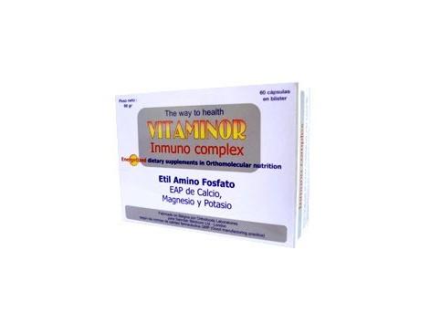 Vitaminor Inmuno Complex 60 capsules