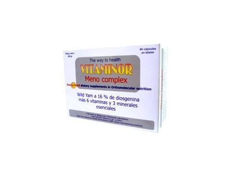 Vitaminor Meno Complex 60 capsules