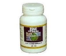 Sura Vitasan Zinc PVH Quelado 25mg. 100 tablets