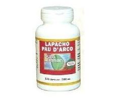 Sura Vitasan Lapacho - Pau D´Arco 500mg. 100 capsules
