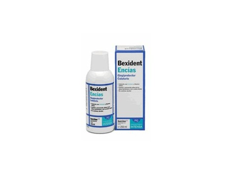 Bexident gums. 500ml mouthwash with triclosan.