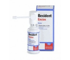 Bexident gums. With Chlorhexidine Spray 40ml.