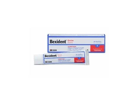 Gums toothpaste Bexident with Chlorhexidine 75ml.