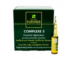 Rene Furterer Complexe 5 concentrated regenerator. 12 ampoules