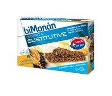 Bimanan granola bars and chocolate. 8 units