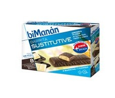 Bimanan black bars and white chocolate. 8 units
