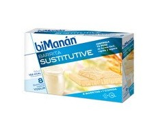 Bimanan yogurt bars. 8 units