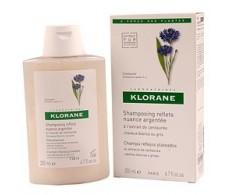 Klorane shampoo silvery to centaurea