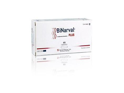 Binarval Plus 60 capsules