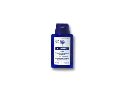 Klorane Eye makeup remover 100ml to cornflower