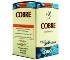 Cobre microgranulos Neo 50 capsulas