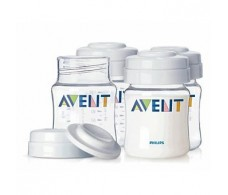 Canning jars for 4 Avent breast milk 125ml