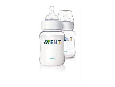 Avent 2 pack 260ml bottle