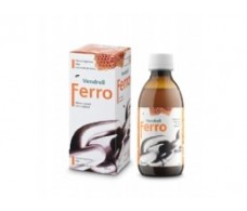 Vendrell Ferro Syrup - 250 ml bottle.
