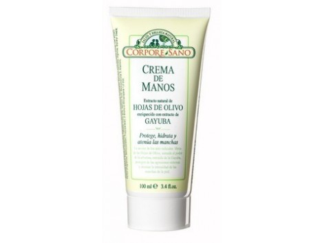 Corpore Sano Hand Cream Olive Leaf and Bearberry  - 100 ml.